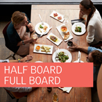 Complete your Experience with our Half Board and Full Board Rates