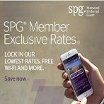 Check out our SPG Member Exclusive Rates