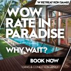 WOW rate in paradise