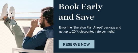 Book early and save
