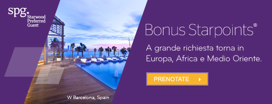 Non state sognando - Earn your dreams SPG offer - Sheraton Milan Malpensa