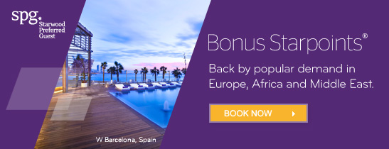 Earn up to 3,000 Bonus Starpoints®