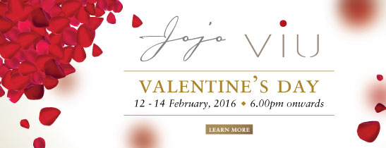Embrace the festival of romance at one of The St. Regis Bangkok's alluring venues this Valentine's Day.