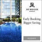 Save up to 25% when you book your stay in advance at The St. Regis Bangkok. Valid for stays booked and completed by December 28, 2017.