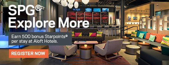 Announcing SPG® Explore More.