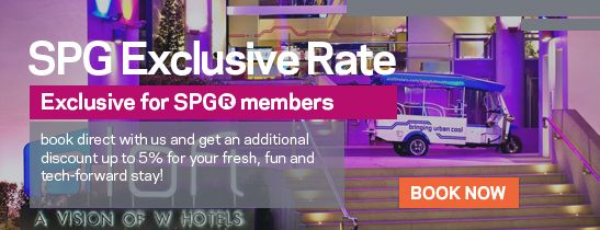 SPG Exclusive Rate