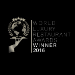 WORLD LUXURY RESTAURANT AWARD WINNER 2016