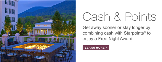 Vermont Resort & Spa Exclusive Offers - Cash & Points