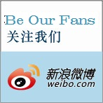 Find us at Weibo
