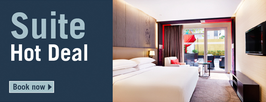 Sweeten your stay with our sutie room