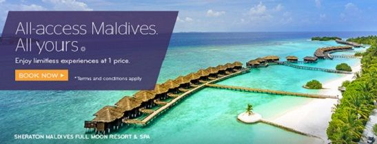 All-Inclusive Maldives. All Yours. At Sheraton Maldives