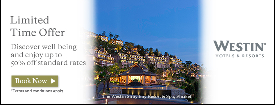 Enjoy up to 50% off at participating Starwood Hotels & Resorts in Asia Pacific. Book by 31 Jan.