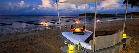 Personalized Dream Dinner at The Beach