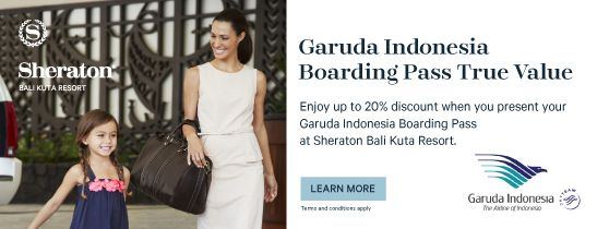 Garuda Indonesia Boarding Pass True Value