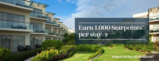 SPG Explore More - Sheraton Bali Kuta Resort