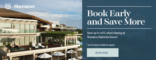 Save Book Sheraton Bali Kuta Resort