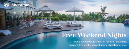 Free Stay at Sheraton Bali Kuta Resort