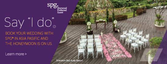 Wedding at Sheraton Bali Kuta Resort