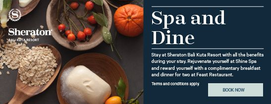 Sheraton Spa and Dine Package