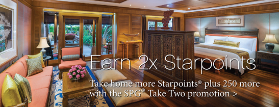 Take home more Starpoints.