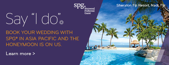 SPG honeymoon