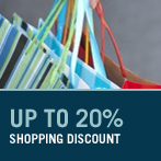 Take Advantage and up to a 20% Discount Card for Glories Shopping Center