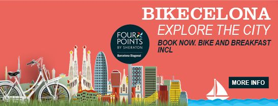 Bikecelona at Four Points by Shearton Barcelona Diagonal