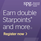 Earn Double Starpoints® Plus 250 More with SPG® Take Two