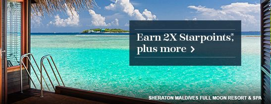 SPG Double Take: Double your Starpoints on your first three stays.