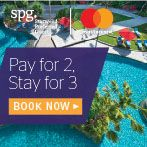 Pay for 2, stay a 3rd night free with MasterCard®