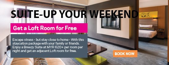 Suite-Up Your Weekend!
