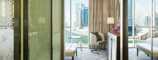 Guestroom at The Westin Dubai Al Habtoor City