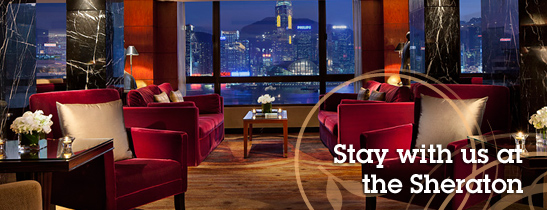 Stay with us at the Sheraton
