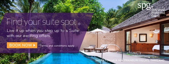Find Your Suit Spot at Sheraton Hua Hin Pranburi Villas