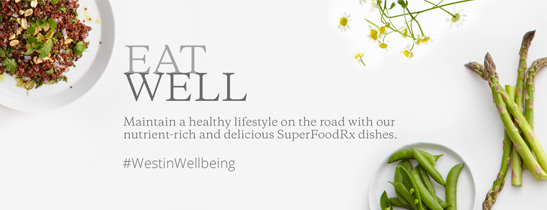 Maintain a healthy lifestyle on the road With our nutrient-rich and delicious SuperFoodRx dishes