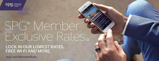SPG Member Exclusive Rates.