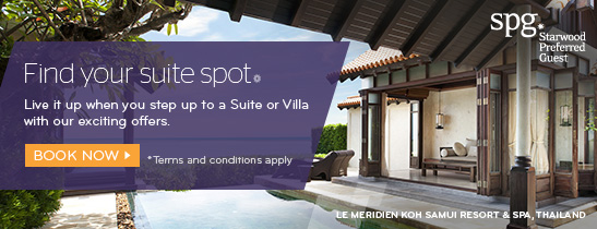 Live it up when you step up to a Suite or Villa with our exciting offers.