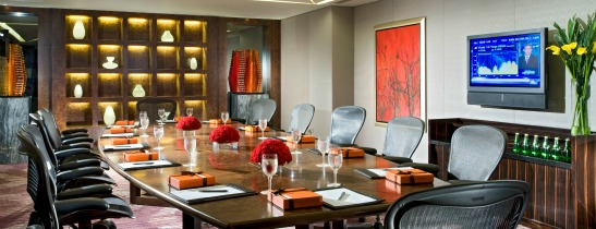 Our boardroom is generously apportioned for private meetings of up to 14 people.
