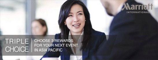 Triple Choice - Choose 3 rewards for your next event
