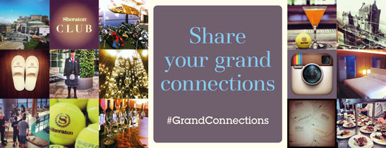 Share your experience of the Sheraton Grand & Edinburgh and tag #GrandConnections @sheratonedinburgh