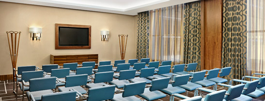 The Glamis meeting room - this space can be divided into two separate meeting rooms.
