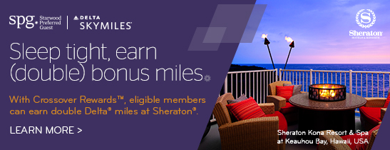 SPG Crossover Rewards