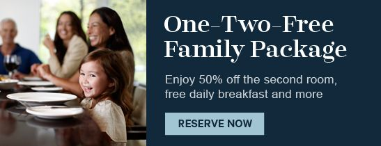 One-Two-Free Family Package