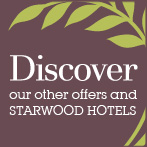 More offers in our other Starwood Hotels