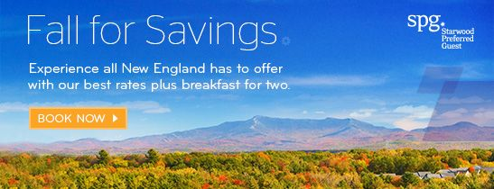 Fall for Savings in New England