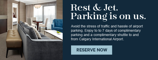 Rest & Jet Parking Package