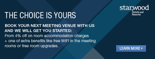 Meeting offer - Banner - Sheraton Parco Rome Hotel