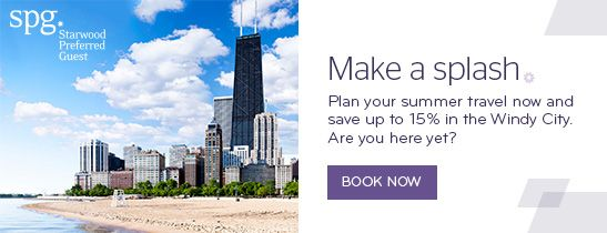 Book your summer travel to the Windy City now