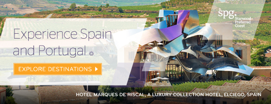 Experience Spain and Portugal with Starwood Hotels & Resorts
