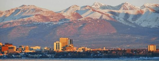 Anchorage Skyline - Sheraton Anchorage Hotel & Spa